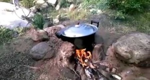 A fun outdoor camping activities