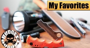 My Favorite Items/Best Gear — Everyday Carry, Outdoor, Camping, Survival, Hunting, Knives & Guns