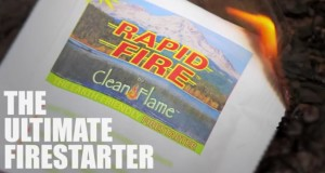 New Camping Gear 2015: Rapid Fire by CleanFlame