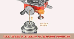 New Etekcity E-gear Portable Collapsible Outdoor Backpacking Camping Stove Slide