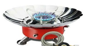 New Etekcity E-gear Portable Collapsible Outdoor Windproof Camping Stove Butane Propane Burner Top