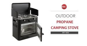Portable Outdoor Propane Camping Stove SKY1836