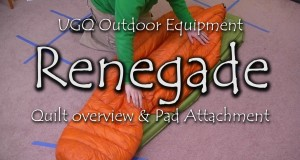 UGQ Outdoor Equipment – Renegade Ultralight Quilt First Impressions