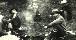 1930s Cascade Mountains horse camping and fly fishing