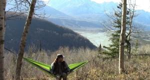 A Backpacking Hammock By Foxtail Hammocks