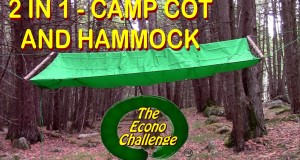 Amazing Wilderness Camp Cot As A Hammock