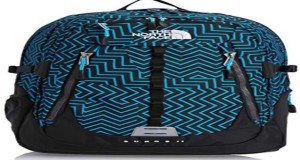 Details The North Face Surge 2 Backpack (Meridian Blue Geo Maze Print) Slide