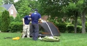 Family Backpacking: How To Set Up A Tent