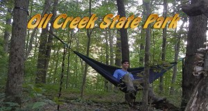 Hammock Camping Oil Creek, PA – Backpacking the Gerard Trail