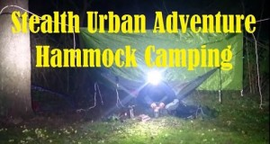 Hammock Stealth Urban Camping Adventure