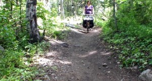 Hiking with a Lightweight Pack Wheel Hiking Cart