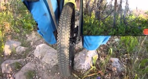 Hiking with a Pack Wheel, Lightweight Single Wheel Collapsible Cart