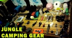 My Camping Equipment for Jungle Trekking