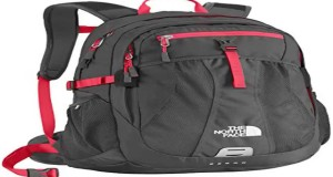 New Women's The North Face Recon Backpack Rocket Red/Asphalt Grey Size One Slide
