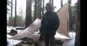 Night Snow/Rain Hike Hammock to Annette Lake-Washington State Hiking