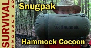 Snugpak Hammock Cocoon- Cold Weather Camping