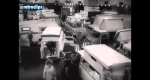 1970 Caravan Outdoor Show London Feria Caravana Londres Mirror Tent Trailer Camping