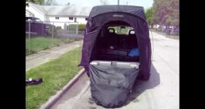 2001 Pontiac Aztek Tent Set up / How to / Instructions Camping