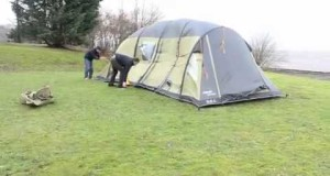 8 man inflatable tent vs Hurricane Bawbag