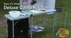 A Camping Table Keeps Your Site Neat and Organized