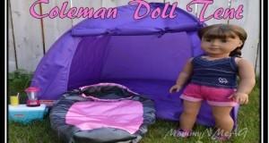 American Girl Camping Tent ~ Sophia's 18″ doll  Coleman Camping Series