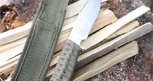 Anglo Arms Small Fix blade Bushcraft/Camping knife Review and Test