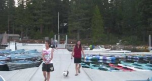 Annual Family Camping Trip: Pinecrest Lake, CA (June 27-30, 2010) Video Part 1