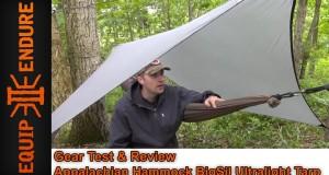 Appalachian Hammock BigSil Ultralight Tarp Gear Test & Overview by Equip 2 Endure