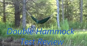 BACKPACKING Double Ultralight Hammock Test Review for under $25