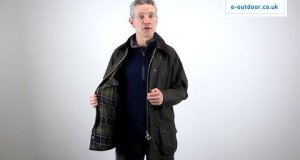 Barbour Classic Beaufort Mens Waxed Jacket Video   e-outdoor.co.uk