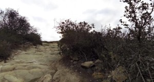 Biking (and hiking) up Stairsteps trail timelapse