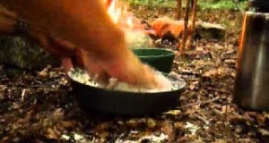 Bushcraft Cooking 3: Bacon Bannock and Grilled Fish