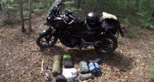 Camping Equipment List for Motorcycle Camping
