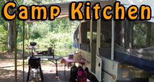 Camping Kitchen Setups & Cooking Tips