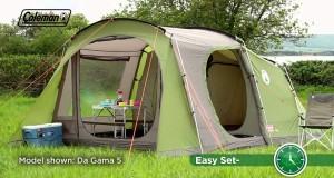 Coleman® Da Gama 4 – Family Camping Tent