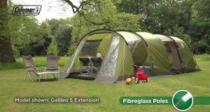 Coleman® Galileo 4 with Extension – Family Camping Tent