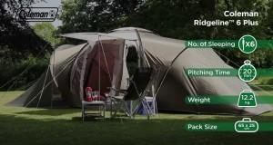 Coleman® Ridgeline 6 Plus – Family Camping Tent