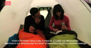 Cotswold Outdoor – Choosing a sleeping bag filling