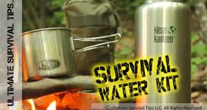 DIY – Survival / Bug Out Water & Filter Kit – EDC – Emergency – Sawyer / Klean Kanteen / GSI