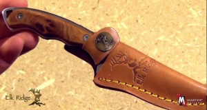 Elk Ridge ER-059 Outdoor Hunting Fixed Blade Knife Product Video