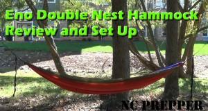 Eno Double Nest Hammock Proper Setup