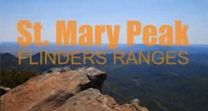 Experience Flinders Ranges – St  Mary Peak Hiking Trail