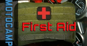 First Aid Kit on my Motorcycle