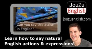 Fun Free Video English lessons – sleeping bag 130728|Learn useful everyday English phrases!