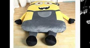 Funny Despicable Me Minions Sleeping Bag Sofa Bed Twin Bed Double Bed Mattress for Kids