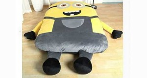 Funny Despicable Me Minions Sleeping Bag Sofa Bed Twin Bed Double Bed Mattress for Kids-ship