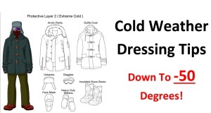 Get the Right Clothes for Camping in Cold Weather