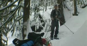 Heather Lake, WA Snowshoe, Winter Hammock Camping
