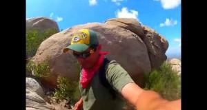 Hiking Mt Woodson (potato chip rock) trail