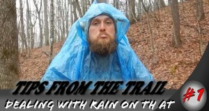 Hiking tips from the trail ~ Dealing with the rain!